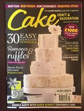 Cake Easy To Follow Tutorial Ruffles New Trends Technique Jan 2016 FREE SHIPPING