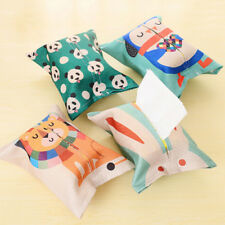 Cute Portable Tissue Towels Pumping Paper Box Travel Pouch Paper Cotton BagsEP