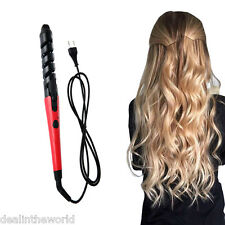 Electric Salon Magic Hair Rollers Curling Iron Pro Styling Tool Spiral Curler