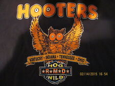 Hog Wild Short Sleeve Polo Shirt, *R*M*D*, Hooters KY-IN-TN-OH, XL, See Pictures