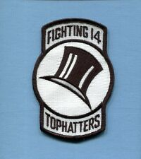 VF-14 TOPHATTERS US NAVY GRUMMAN F-14 TOMCAT Fighter Squadron Jacket patch