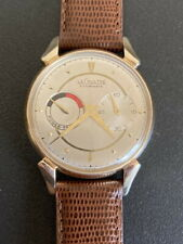 Beautiful Restored! 10KGF Jaeger LeCoultre Futurematic Automatic Watch- Working!