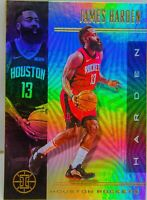 James Harden 2019-20 Illusions Silver Holo Refractor Card #35 Houston Rockets