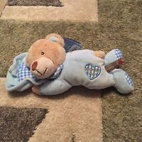 Keel Toys baby's 1st bear blue boy teddy first soft toy comforter plush NEW tag