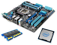 PC Kit Asus Mainboard P7Q57 M DO + 4 GB DDR3 RAM + Intel Core i3 540 2x 3,06GHz