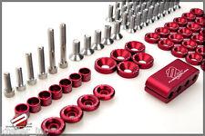 Password JDM Engine Bay Dress Up Kit 13+ Subaru BRZ Scion FR-S Red PWEDU-BRZ-RED