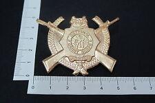 Rare Vintage Singapore National Cadet Corps Rifles Pin Badge (A126)