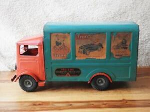 TRI-ANG LINES BROTHERS 1947 PRESSED STEEL TRANSPORT VAN No.200 ORIGINAL POSTERS