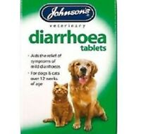 JOHNSONS DIARRHOEA 12 TABLETS for Cats and Dogs