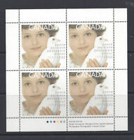 #1813 Millennium Girl and Dove Sheet, mint fine never hinged