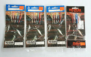 Yo Zuri - Sakili Rigs LOT - Lot of 4 Packs = Lot #3