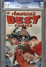 America's Best #20 December 1946 CGC 7.5 Schomburg Cover