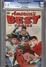 America's Best #20 December 1946 CGC 7.5 Schomburg Cover