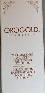24K Dmae Deep Wrinkle Tightening Solution, Orogold, Removes Wrinkles Like Botox