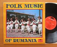 Folk Music Of Rumania 1967 Stereo NM/EX Polydor 184 124 Romania