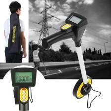 Digital Messrad Rolltacho Messroller 10 km Vermessungsrad mit 5m Stahlmaßband A+