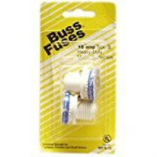 """15A, Type S Plug Fuse, Time Delay Fusetron, Dimensions: 2.75""""L x 1.375""""W x 0.625"""