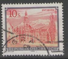 AUSTRIA SG2005 1988 10s MONASTRIES & ABBEYS FINE USED