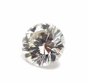 0.39 Carato Naturale SI2 J Colore GIA Certificato Rotondo Brillante Cut Diamante