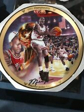 Micheal Jorden 1991 Championship Collector's Plate