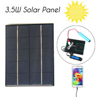 3.5W 5V 0-700mA Solar Panel Charger Solar For Mobile Phone 18650 Battery CA CA