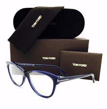 New Tom Ford Eyeglasses TF 5287 092 Dark Blue 55•14•140 With Original Case