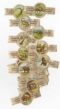 24 small cigar bands Panter Prehistoric Animals And Dinosaurs brown iss in 1970