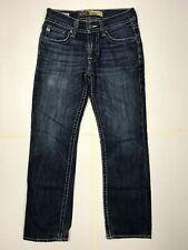 Buckle jeans mens size 30 x 30 union slim straight blue dark wash DQ10