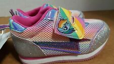 My Little Pony Little Girls Sneakers Size 6 Rainbow Colors