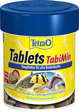 Tetra Tablets TabiMin 66ml / 120 Tabletten für alle Bodenbewohner Welsfutter