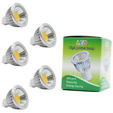 5x MR16 LED Lampen Spotlight Leuchtmittel,Warmweiß 2700K,3W 210Lumen ,DC 12V