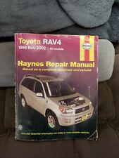 1996-2002 Haynes Toyota RAV4 Repair Manual : USED