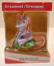 My Little Pony Christmas ornaments G3- Triple Treat 2004 new sealed