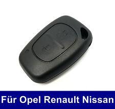 2Tasten Ersatz Auto Schlüssel Gehäuse für Renault Kangoo Clio Nissan Interstar