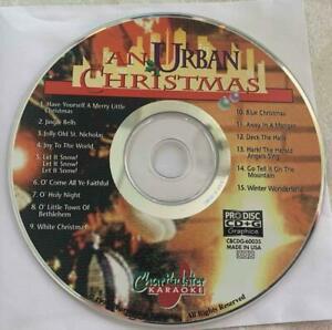 URBAN CHRISTMAS KARAOKE CDG CHARTBUSTER MUSIC SONGS CD JINGLE BELLS,SNOW CD+G