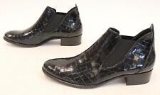 Paul Green Women's Ankle Echt Leather Booties HD3 Black Size UK:6.5 US:9