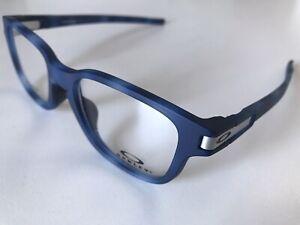 Oakley Latch SS RX Eyeglasses OX8114-0450 Matte Blue Tortoise Frame [50-17-131]
