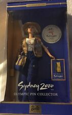 NEW BARBIE DOLL 1999 SYDNEY 2000 OLYMPIC PIN COLLECTOR