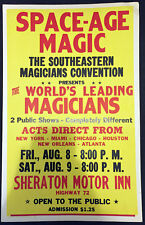 Original Southeastern Magicians Convention Window Card