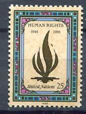 19221) UNITED NATIONS (New York) 1988 MNH** Human Rights.