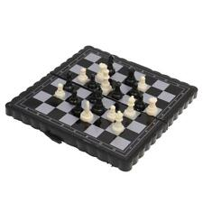 Pocket Chess Game Magnetic Plastic Chessboard Set Classic Chess Outdoor Game
