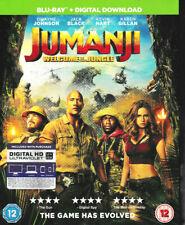 Jumanji - Welcome to the Jungle - Blu Ray - Brand New & Sealed