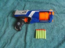 NERF N-STRIKE ELITE STRONGARM TOY GUN WITH 6 AMMUNITION DARTS IDEAL HALF TERM