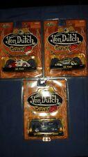 Jada Von Dutch Garage 3 Car Lot