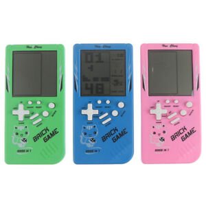 Big Screen Classic Handheld Game Machine Tetris Brick Game Kids LCD Electroni_OI