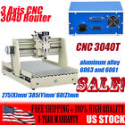 3 Axis CNC 3040 Router Engraver Engraving Wood Drill/Milling Machine Cutter US