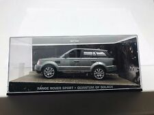 JAMES BOND 007 RANGE ROVER SPORT QUANTUM OF SOLACE MOVIE 1/43 DIE CAST MODEL CAR