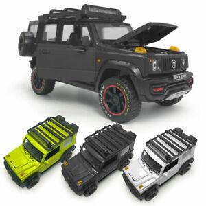 1:18 Suzuki Jimny SUV 2018 Model Car Diecast Toy Vehicle Sound Light Kids Gift
