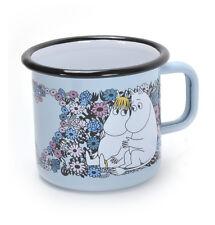 Moomin Sweetheart- Blue Moomin Muurla Enamel Mug - 3.7 cl