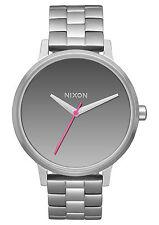 Nixon Kensington A099-2633 Mirror/Silver Stainless Steel Analog Quartz Women's